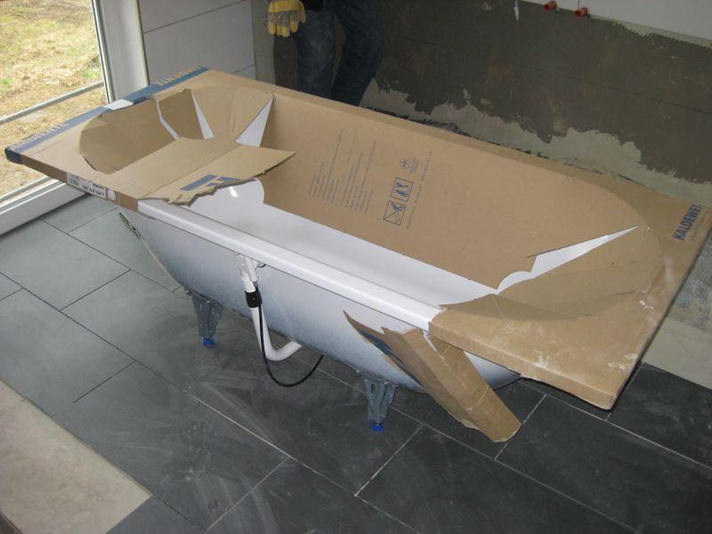 Vorbereiten Der Badewanne › Wir Bauen Dann Mal Ein Haus