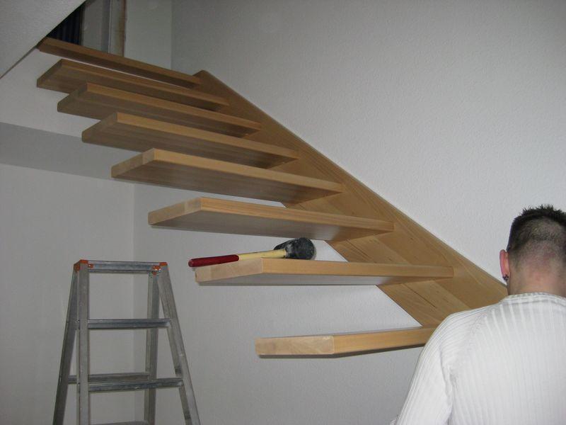 Bevorzugt Einbau der Holztreppe › Wir bauen dann mal ein Haus EL89