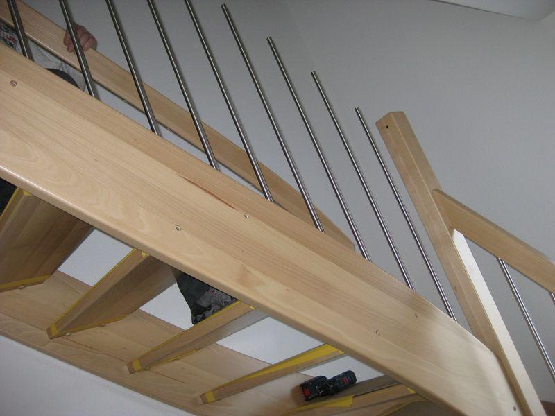 Extrem Einbau der Holztreppe › Wir bauen dann mal ein Haus RZ87
