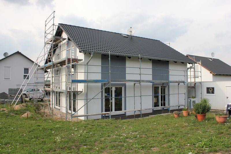 Farbanstrich Der Hausfassade Wir Bauen Dann Mal Ein Haus