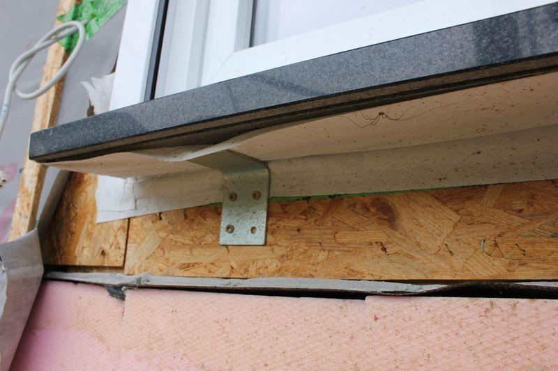 Granitfensterbank bewegt sich wir bauen dann mal ein haus - Fensterbank zum sitzen bauen ...
