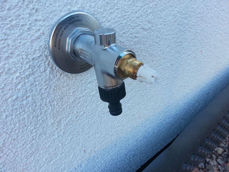 Wechseln kemper wasserhahn dichtung Außenwasserhahn frostsicher
