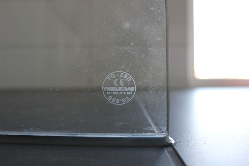 Mm Sicherheitsglas Für Die Duschabtrennung Aus Glas Wir Bauen - Duschwand auf fliesen kleben