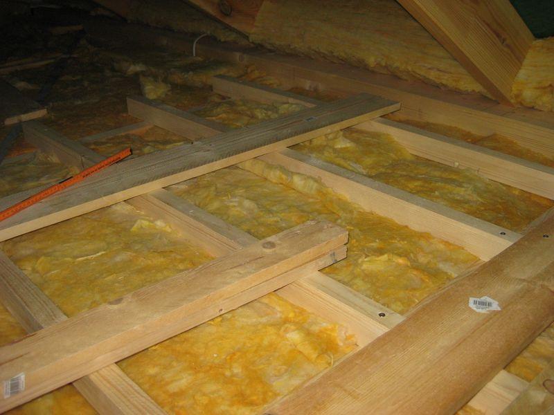 Dach Fußboden Dämmen ~ Ausbau des dachboden u a wir bauen dann mal ein haus