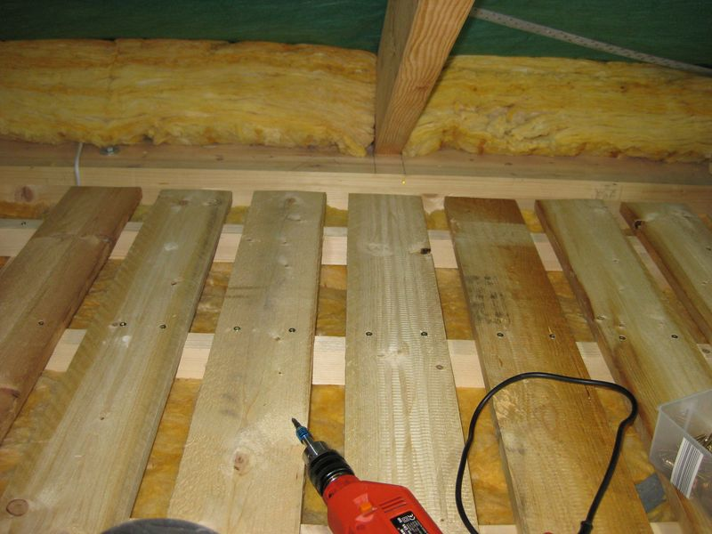 Dach Fußboden Dämmen Anleitung ~ Ausbau des dachboden u a wir bauen dann mal ein haus