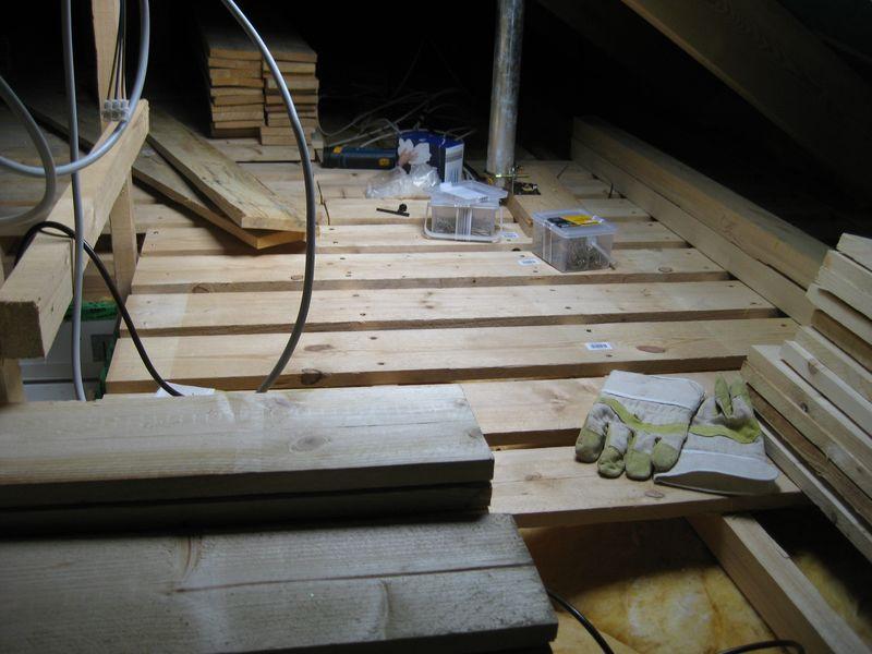 Welcher Fußboden Im Dachboden ~ Ausbau des dachboden u a wir bauen dann mal ein haus