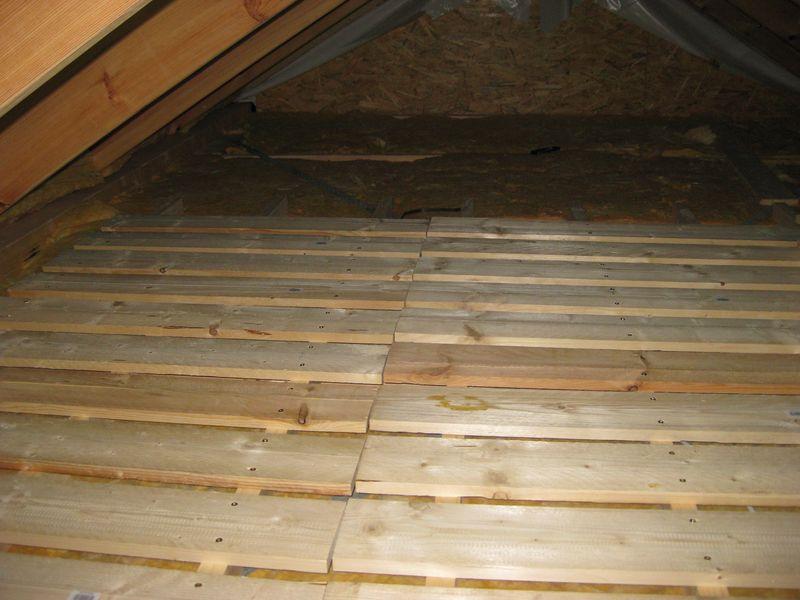 Dachboden Fußboden Dämmen Anleitung ~ Ausbau des dachboden u203a wir bauen dann mal ein haus