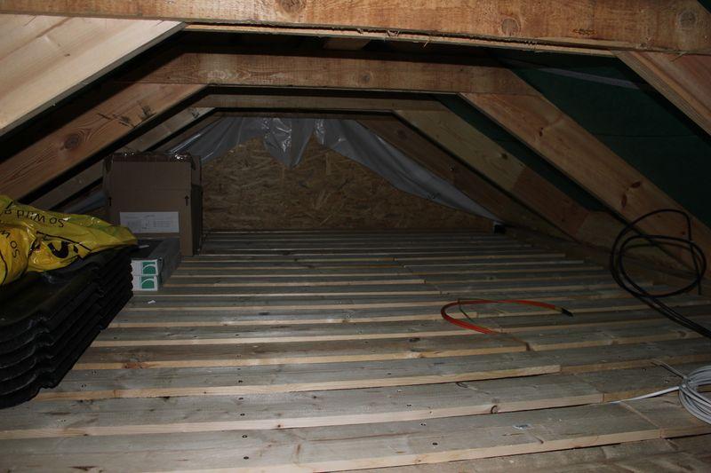 Fußboden Im Spitzboden ~ Ausbau des dachboden u203a wir bauen dann mal ein haus