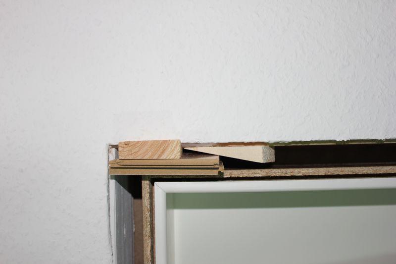 einbau einer t rzarge in eigenleistung beim hausbau wir. Black Bedroom Furniture Sets. Home Design Ideas