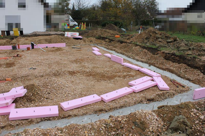 Vorbereitungen Fur Die Bodenplatte Wir Bauen Dann Mal Ein Haus