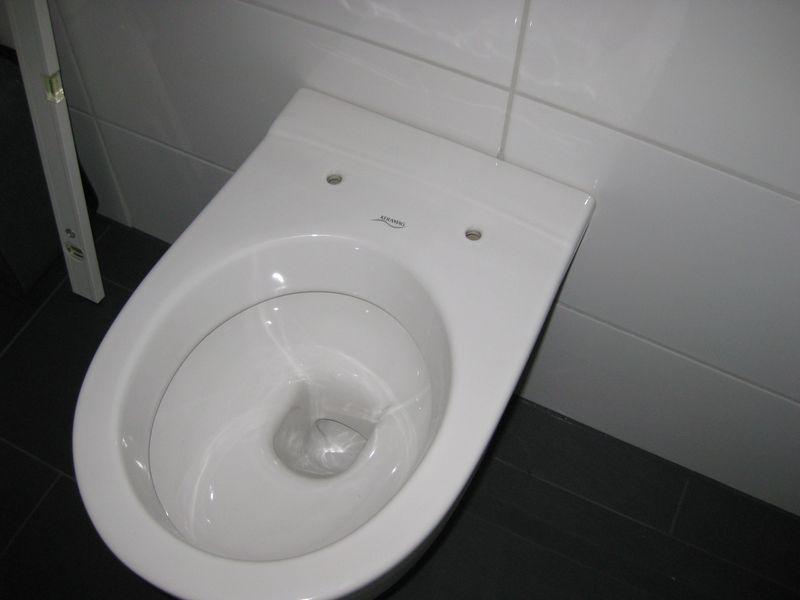 hnge wc montieren umrsten vom stand aufs wandwc with hnge. Black Bedroom Furniture Sets. Home Design Ideas
