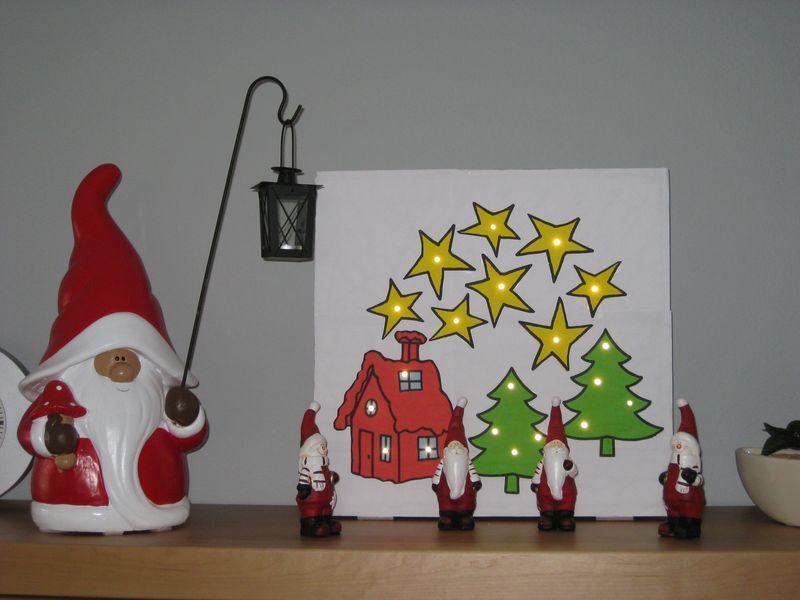 weihnachtsbasteln mit baumaterial wir bauen dann mal ein. Black Bedroom Furniture Sets. Home Design Ideas
