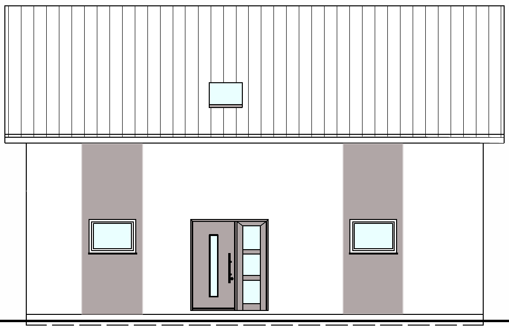 farbliche gestaltung der hausfassade wir bauen dann mal. Black Bedroom Furniture Sets. Home Design Ideas