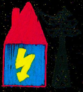 Anschluss vom Stromversorger