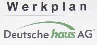 Werkplan der Deutschen Haus AG (DHAG)