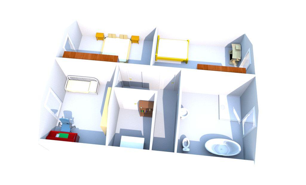 aktualisierung 3d grundriss obergeschoss wir bauen dann mal ein haus. Black Bedroom Furniture Sets. Home Design Ideas
