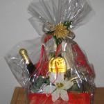 Ein Geschenkkorb der Baupartner aus Gensingen