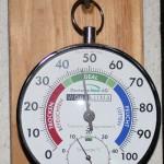 Raumtemperatur bei knapp 10 Grad