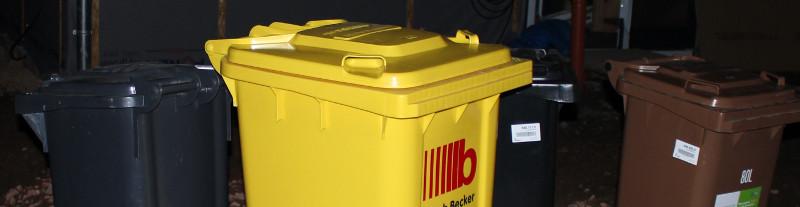 Abfalltonnen - Mülltonnen