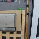 montierter Briefkasten