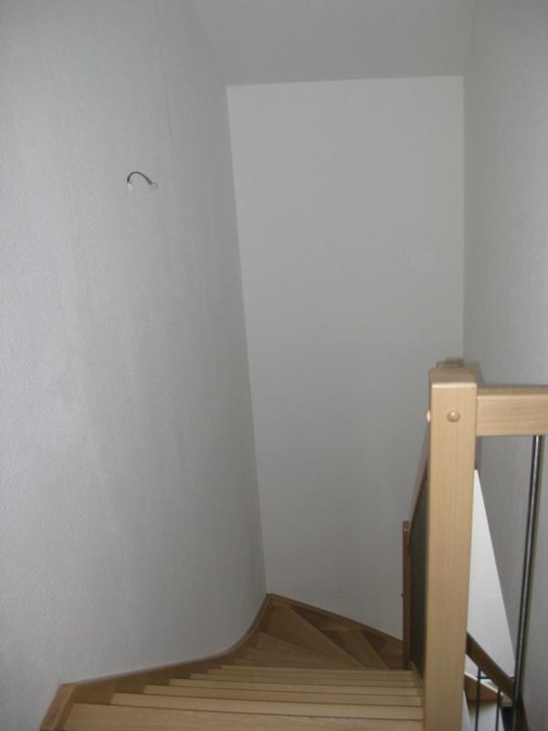 beleuchtung im treppenaufgang wir bauen dann mal ein haus. Black Bedroom Furniture Sets. Home Design Ideas