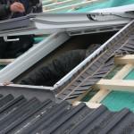 Einbau Velux Dachfenster