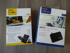 Hauppauge DVB-T und DVB-S Empfänger
