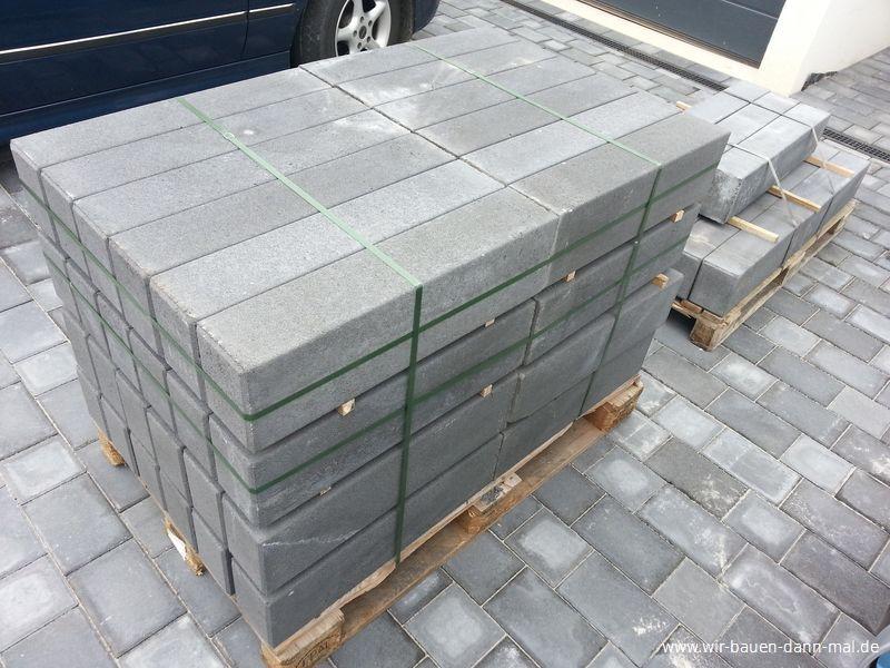 Sehr Podest mit Palisaden abgestellt - Gartengestaltung mit Beton › Wir HK78