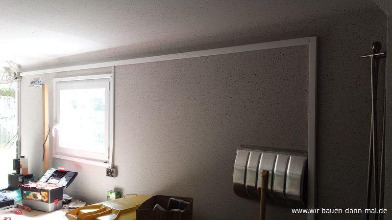 stromkabel in der fertiggarage nachtr glich verlegt wir. Black Bedroom Furniture Sets. Home Design Ideas