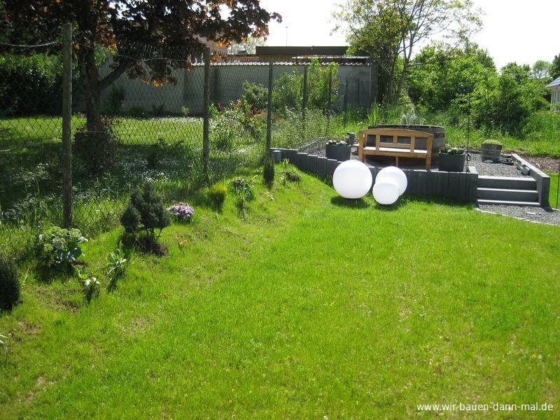 Kugelleuchten Mit Led Für Die Installation Im Garten Wir Bauen