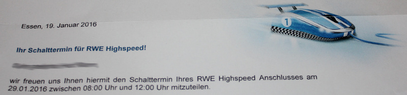 RWE Internet in Zotzenheim