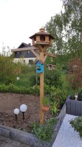 XXL Futterhaus für Vögel