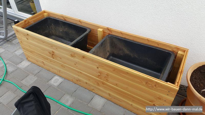 Ein Hochbeet Selbst Bauen Pflanzkubel Aus Holz Fur Die Terrasse